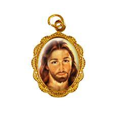 Imagem - Medalha de alumínio - Rosto de Jesus cód: 19062909-19