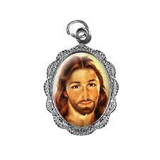 Medalha de alumínio - Rosto de Jesus