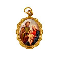 Imagem - Medalha de Alumínio - Sagrada Família - Mod. 03 - 16810711