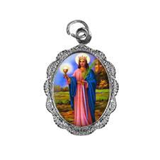 Imagem - Medalha de Alumínio - Santa Bárbara cód: 18558401-20