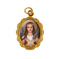 Imagem - Medalha de Alumínio - Santa Filomena - 16457814-19