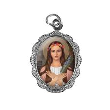 Imagem - Medalha de Alumínio - Santa Filomena cód: 16457814-20