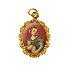 Medalha de Alumínio Santa Inês