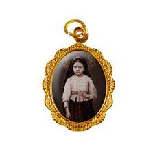 Imagem - Medalha de Alumínio - Santa Jacinta Marto cód: 10746211-19