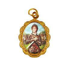 Imagem - Medalha de alumínio - Santa Joana D' Arc cód: 16001350-19