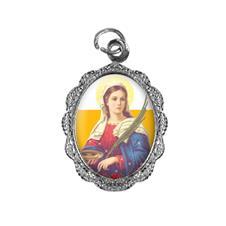 Medalha de Alumínio - Santa Luzia - Mod. 01