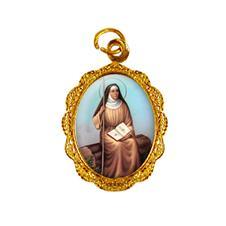 Imagem - Medalha de Alumínio - Santa Mônica cód: 14628684-19