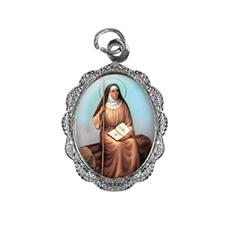 Imagem - Medalha de Alumínio - Santa Mônica cód: 14628684-20