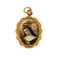 Imagem - Medalha de Alumínio - Santa Rita de Cássia cód: 10788468-19