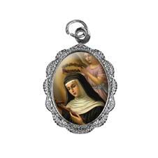 Imagem - Medalha de Alumínio - Santa Rita de Cássia cód: 10788468-20