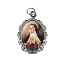 Medalha de Alumínio Santa Teresa D'Ávila