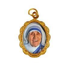 Imagem - Medalha de Alumínio - Santa Teresa de Calcutá Mod. 1 cód: 12550460-19