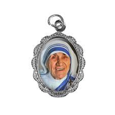 Imagem - Medalha de Alumínio - Santa Teresa de Calcutá Mod. 1 cód: 12550460-20