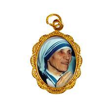 Medalha de Alumínio - Santa Teresa de Calcutá Mod. 2
