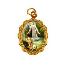 Imagem - Medalha de Alumínio - Santo Anjo cód: 14542841-19