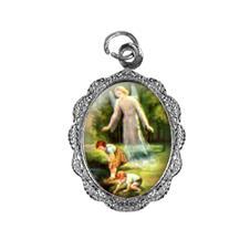 Imagem - Medalha de Alumínio - Santo Anjo cód: 14542841-20