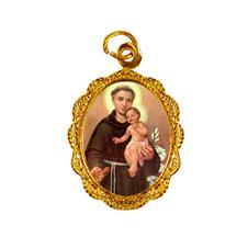 Imagem - Medalha de alumínio - Santo Antonio - Mod. 02 cód: 19597317-19