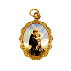 Imagem - Medalha de Alumínio - Santo Antonio - Mod. 05 cód: 15278214-19