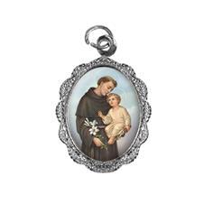 Imagem - Medalha de alumínio - Santo Antonio - Mod. 01 - 19724185-20