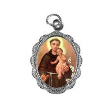 Imagem - Medalha de alumínio - Santo Antonio - Mod. 02 cód: 19597317-20