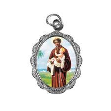 Imagem - Medalha de alumínio - São Benedito - Mod. 1  - 13910225-20