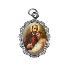 Medalha de alumínio - São Camilo de Lellis