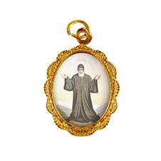 Imagem - Medalha de alumínio - São Charbel - Mod. 01  cód: 13863404-19