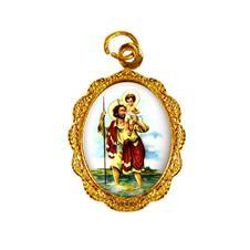 Imagem - Medalha de Alumínio - São Cristóvão - 13471482-19