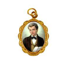 Imagem - Medalha de Alumínio - São Domingos Sávio - Mod. 03 cód: 14681918-19
