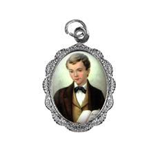 Imagem - Medalha de Alumínio - São Domingos Sávio - Mod. 03 cód: 14681918-20