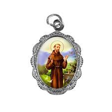 Imagem - Medalha de alumínio - São Francisco de Assis cód: 18842337-20
