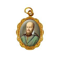 Imagem - Medalha de Alumínio - São Francisco de Sales - Mod. 01 cód: 18518483-19