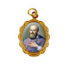 Imagem - Medalha de Alumínio - São Francisco de Sales - Mod. 02 cód: 19987990-19
