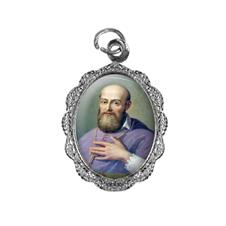Medalha de Alumínio - São Francisco de Sales - Mod. 02