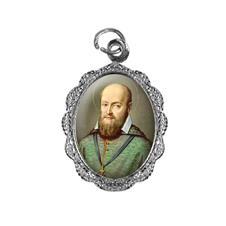 Imagem - Medalha de Alumínio - São Francisco de Sales - Mod. 01 cód: 18518483-20