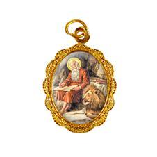 Imagem - Medalha de alumínio - São Jerônimo cód: 13312298-19