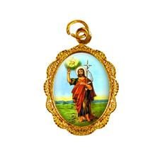 Imagem - Medalha de alumínio - São João Batista cód: 12249392-19