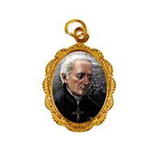 Medalha de Alumínio - São José de Anchieta - Mod. 01 Dourado
