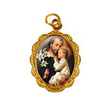 Imagem - Medalha de alumínio - São José - Mod. 1 - 14579987-19