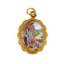 Imagem - Medalha de alumínio - São José do Operário - Mod. 1 cód: 15567070-19