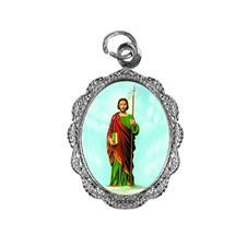 Imagem - Medalha de alumínio - São Judas Tadeu - Mod. 2 cód: 11706000-20