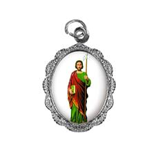 Imagem - Medalha de Alumínio - São Judas Tadeu - Mod. 03 cód: 17213041-20