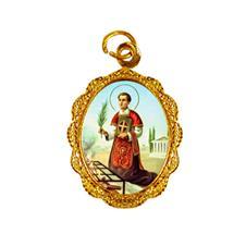 Imagem - Medalha de alumínio - São Lourenço cód: 17411372-19