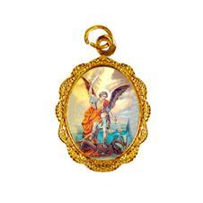 Imagem - Medalha de alumínio - São Miguel Arcanjo - Mod. 1 cód: 14647902-19