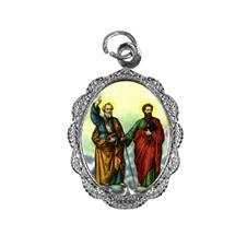 Medalha de alumínio - São Pedro e São Paulo