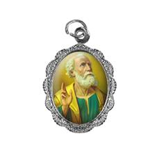 Imagem - Medalha de alumínio - São Pedro cód: 12400201-20