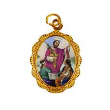 Imagem - Medalha de alumínio - São Valentim cód: 15172052-19