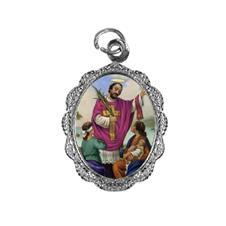 Imagem - Medalha de alumínio - São Valentim cód: 15172052-20