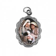 Imagem - Medalha de Alumínio - São Zacarias e Santa Isabel cód: 11598218-20