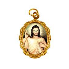 Imagem - Medalha de alumínio - Senhor do Bonfim - MASFB-01